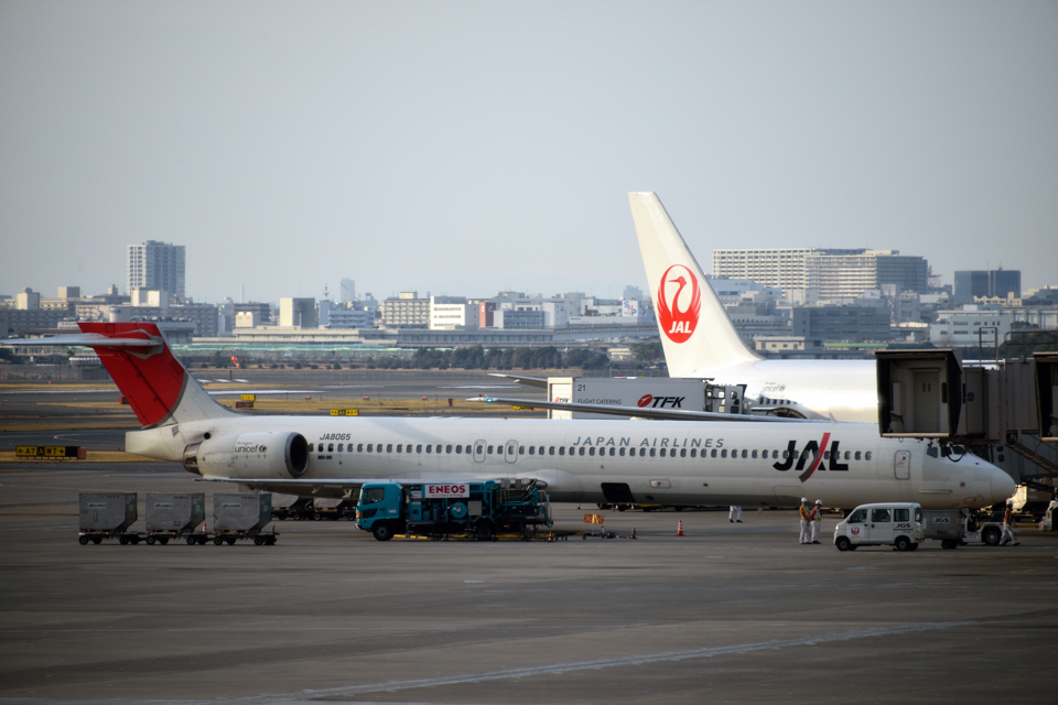 JAL Airplane