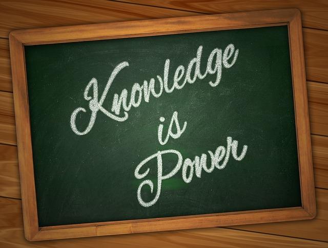 知識は力なり