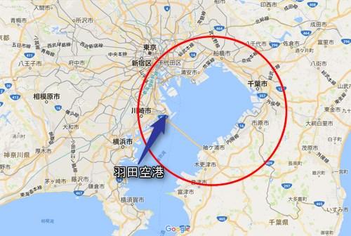 羽田空港周辺地図