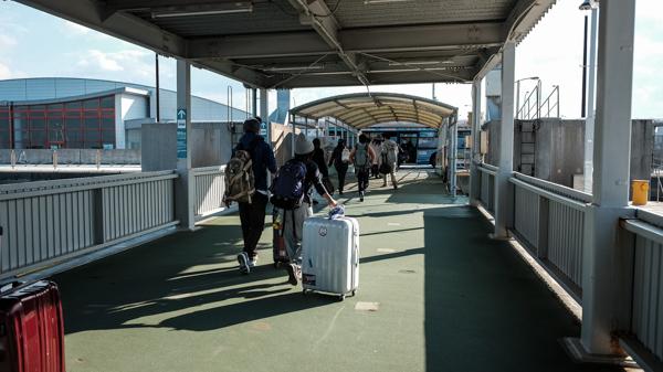 神戸ベイシャトル乗り場