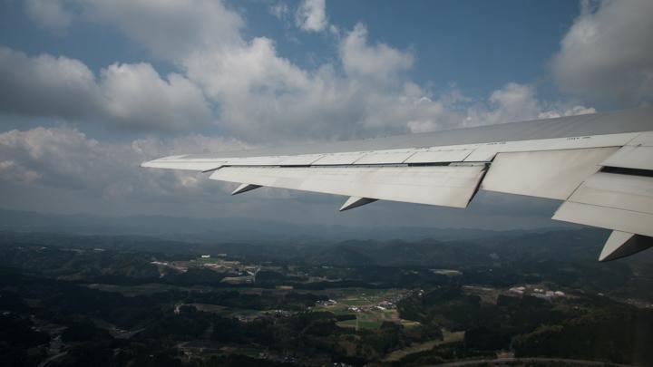 JAL 機窓風景