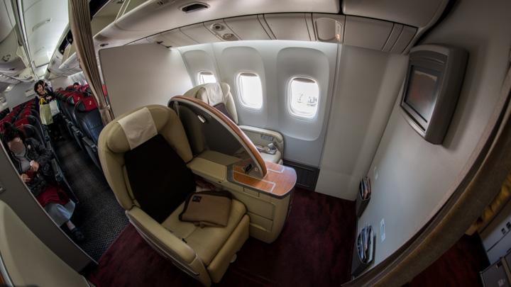 JAL機内 国内線ファーストクラス