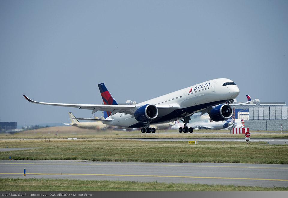 デルタ航空 A350