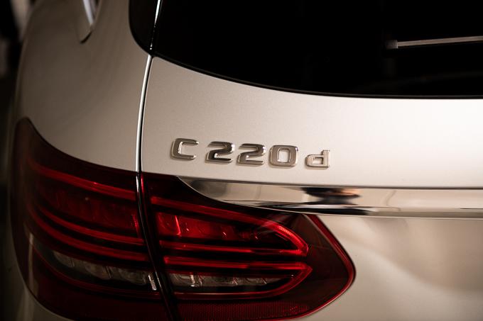 C220dステーションワゴンのおしり。