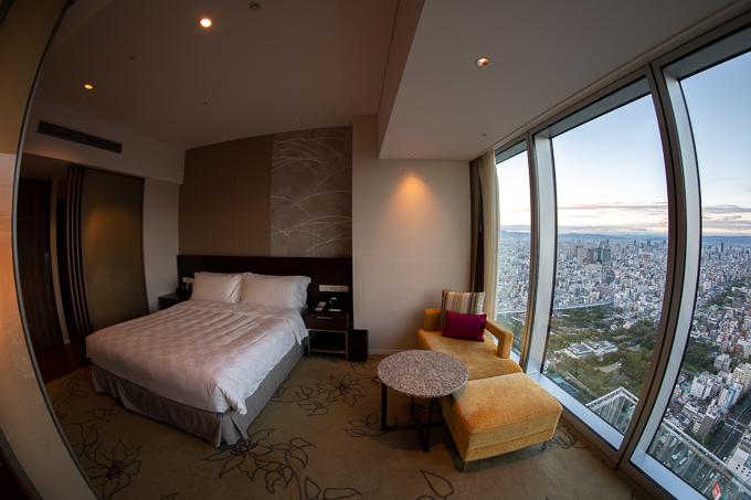 大阪マリオット都ホテルのスーペリアルーム