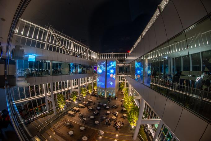 あべのハルカス300展望台中庭