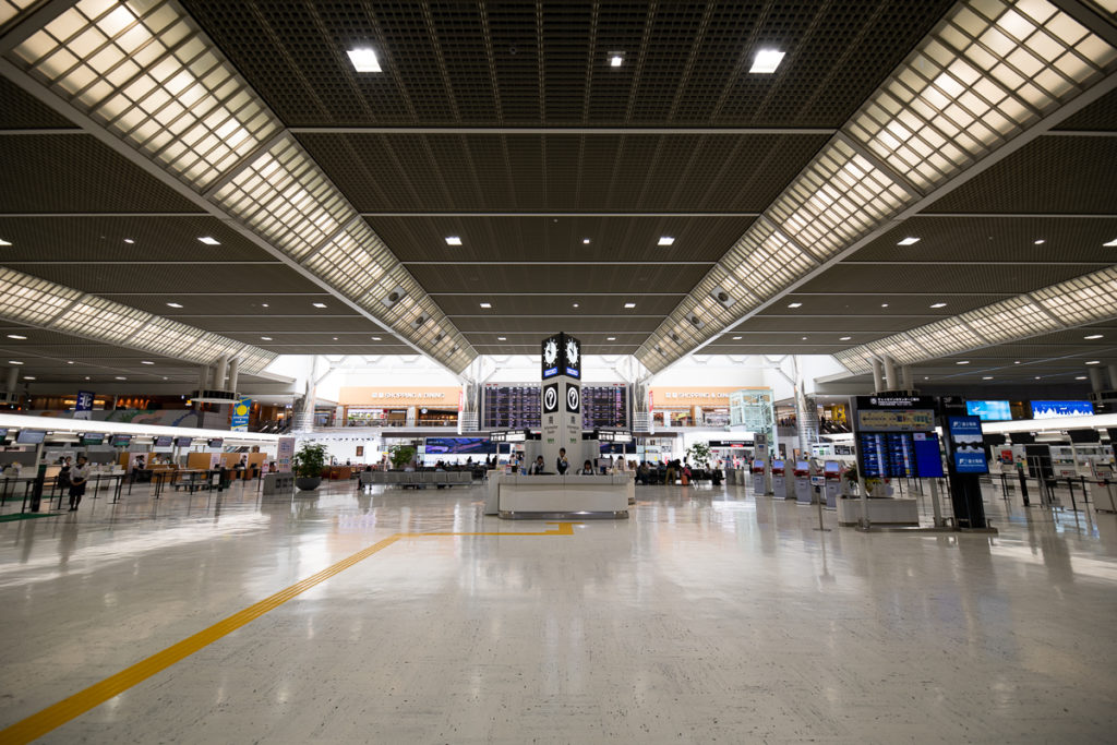 成田空港第2ターミナル国際線出発ロビー