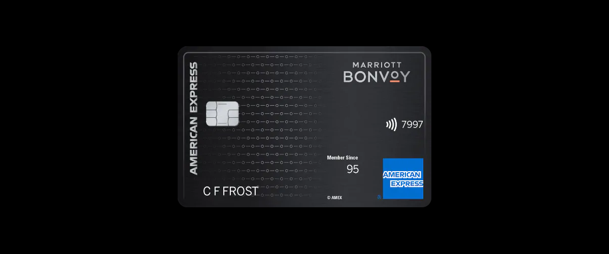 Marriott Bonvoy American Express Card(USA)の券面
